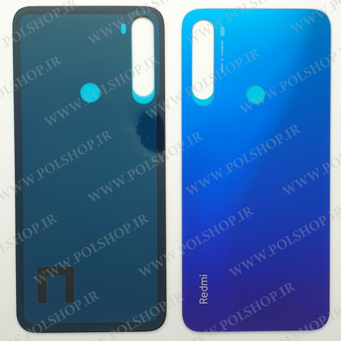درب پشت شیائومی  REDMI NOTE8 اصلی رنگ آبی