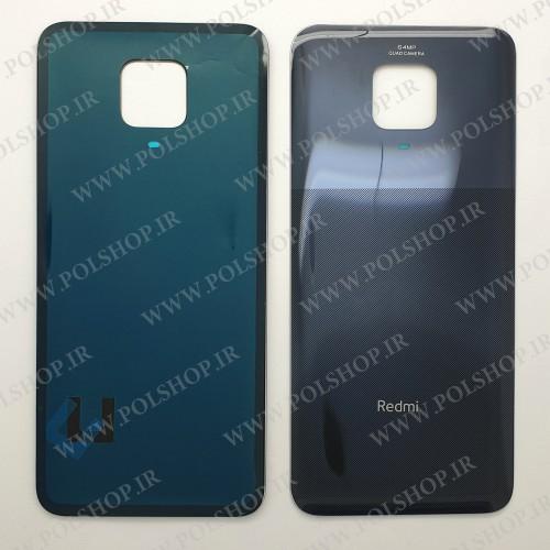 درب پشت شیائومی  NOTE-9S اصلی رنگ مشکی BACK COVER XIAOMI NOTE-9S M2003J6A1G BLACK