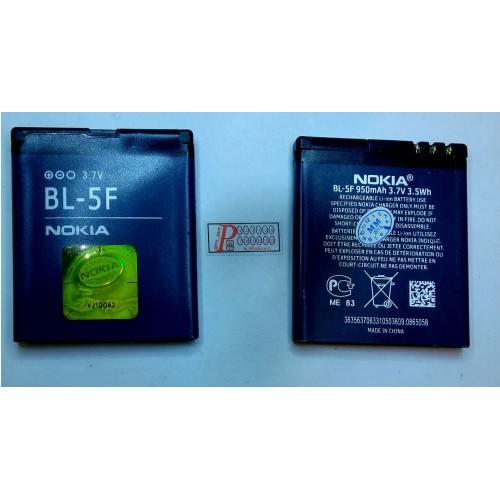 باطری نوکیا  اصلی BATTERY NOKIA N95 6210 N93I E65 6290 N96 6710 BL-5F  BATTERY NOKIA N95 6210 N93I E65 6290 N96 6710 BL-5F
