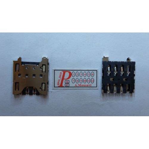 سوکت سیم کارت CONNECTOR SIM BLACK BARY Q10 CONNECTOR SIM BLACK BARY Q10
