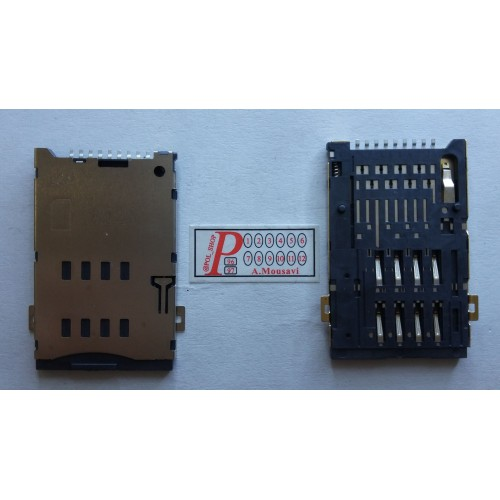 سوکت سیم کارت CONNECTOR SIM HUAWEI TABLET S7 9PINCONNECTOR SIM HUAWEI TABLET S7 9PIN