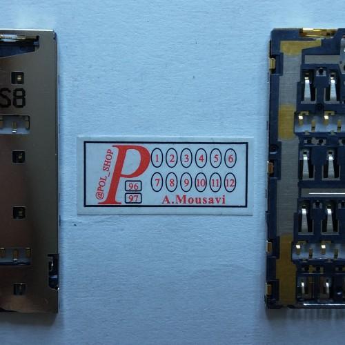سوکت سیم کارت سونی  CONNECTOR SIM SONY Z3+, Z3 PLUS, Z4