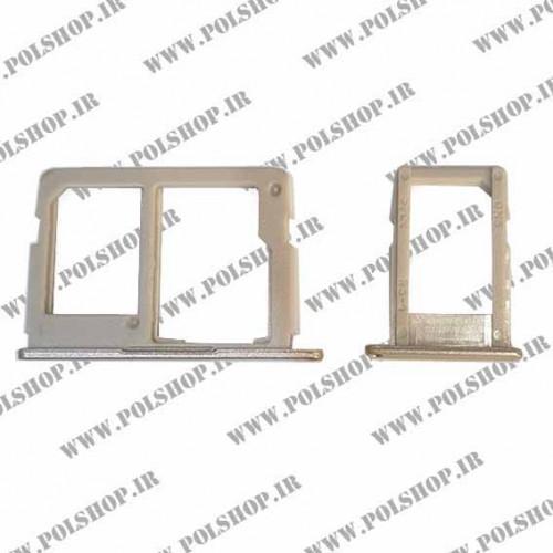 خشاب سیم کارت (جا سیم کارتی) سامسونگ مدل: (TRY SIM SAMSUNG GALAXY J7 PRIME (G610 گلد