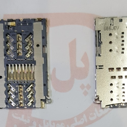 سوکت سیم کارت سامسونگ مشترک   (CONNECTOR SIM & MEMORY  for SAMSUNG A320 A520 A720 (A3 A5 A7 2017 CONNECTOR SIM & MEMORY  for SAMSUNG A320 A520 A720