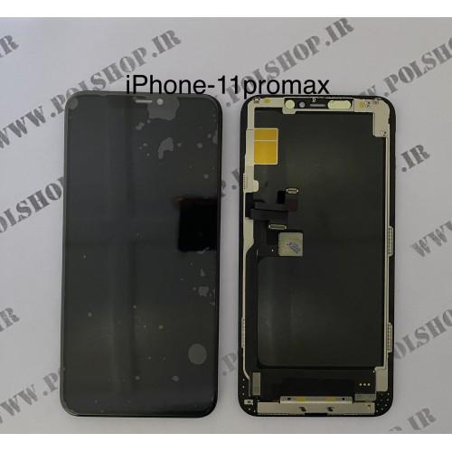 تاچ ال سی دی ایفون مدل: IPHONE 11 pro max مشکی (اورجینال) TOUCH LCD IPHONE 11 pro max ORIGINAL