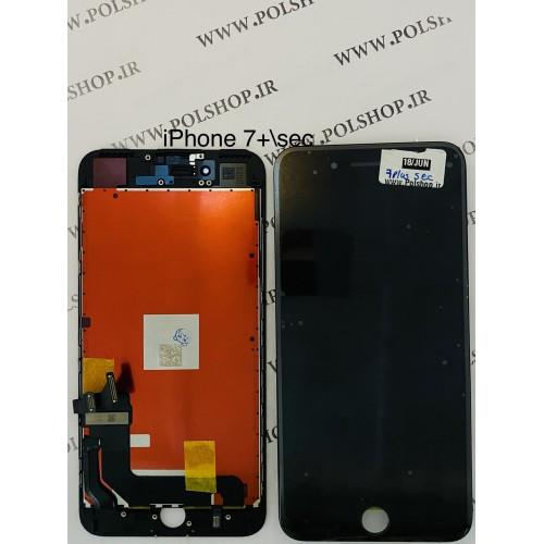 تاچ ال سی دی ایفون مدل: IPHONE 7 PLUS مشکی (رو کاری)TOUCH LCD IPHONE 7 PLUS SECOND HAND BLACK