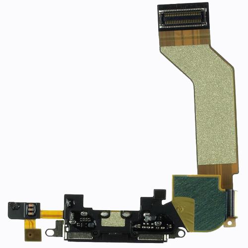 فلت شارژ میکروفن  ایفون 4S اصلیFLAT CHARGING+MIC IPHONE 4S