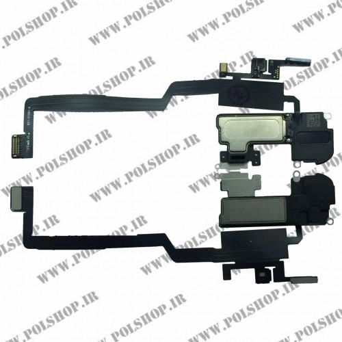 فلت اسپیکر، سنسور تشخیص چهره آیفون ایکس FLAT SPEAKER IPHONE X A1865, A1901, A1902, A1903
