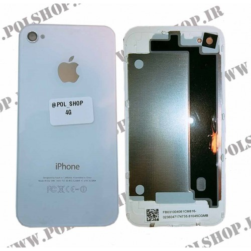 قاب ایفون (درب پشت) 4G اصلی BACK COVER IPHONE 4G ORGINALBACK COVER IPHONE 4G ORGINAL