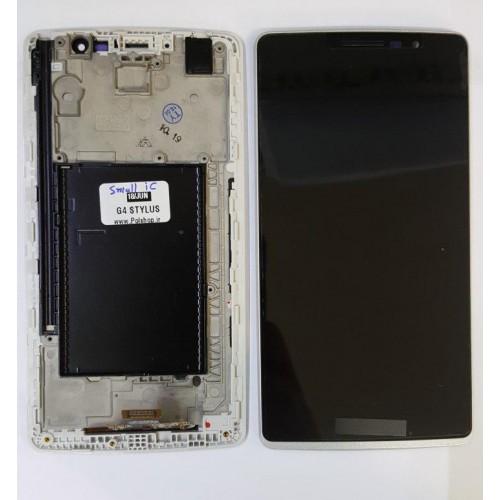 تاچ و ال سی دی ال جی مدل: (G4 STYLUS (H540 H635 مشکی با فریم( آی سی بزرگ)TOUCH+LCD LG G4 STYLUS (H540 H635) BLACK+FRAIM+BIG IC