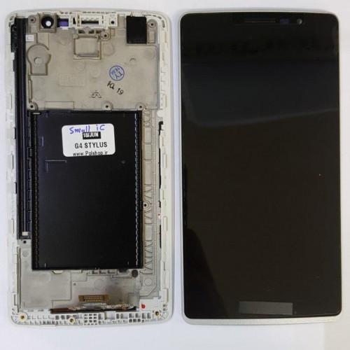 تاچ و ال سی دی ال جی مدل: (G4 STYLUS (H540 H635 مشکی بدون فریم( آی سی کوچک)TOUCH+LCD LG G4 STYLUS (H540 H635) BLACK+SMALL IC