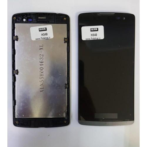 ال سی دی ال جی مدل:(LEON (H324 مشکی با فریمTOUCH+LCD LG LEON (H324) BLACK+FRAIM