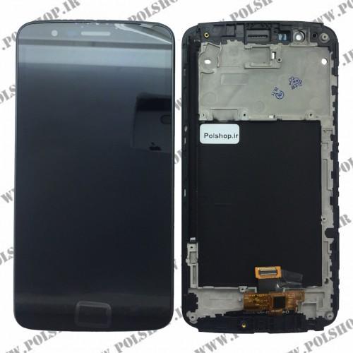 تاچ ال سی دی ال جی مدل: LG Stylus 3 - M400 مشکی بافریمTOUCH LCD LG Stylus 3 - M400