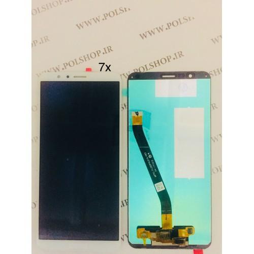 تاچ ال سی دی هواوی مدل: HONOR 7X سفیدTOUCH+LCD HUAWEI HONOR 7X WHITE