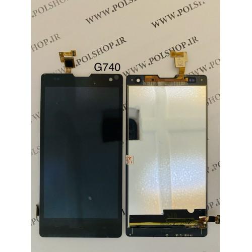 تاچ ال سی دی هواوی مدل: (HONOR 3C-U10 (G740 مشکیTOUCH+LCD HUAWEI G740 HONOR 3c-u10 ORGINAL