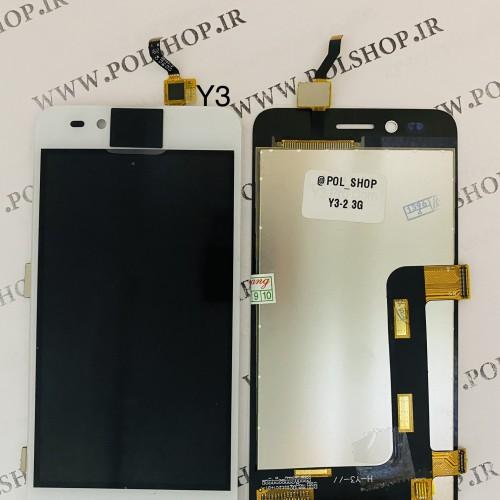 تاچ ال سی دی هواوی مدل: (Y3-2 3G (LUA-U22 سفیدTOUCH+LCD HUAWEI Y3-2 3G LUA-U22 Y3-II Y3 PRO WHITE