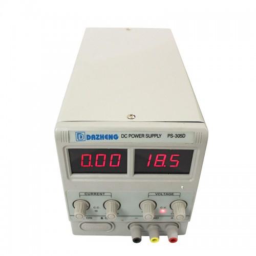 منبع تغذیه 0 تا 30 ولت 2 آمپر DAZHENG DC POWER SUPPLY VARIABLE PS-302DDAZHENG DC POWER SUPPLY VARIABLE PS-302D