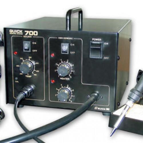 هیتر و هویه دیجیتال کویک QUICK 700  اصلیQUICK 700  DIGITAL SOLDERING STATION
