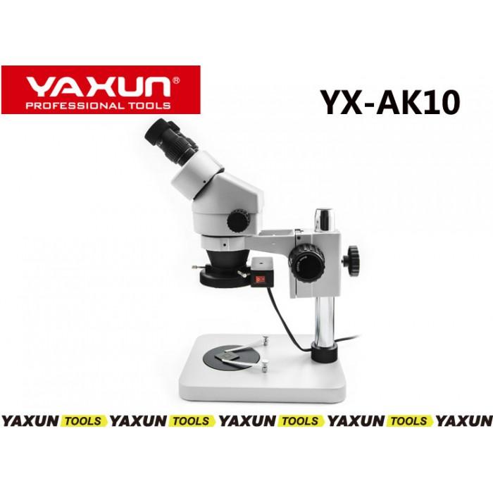 لوپ دیجیتال یاکسون چشمی حرفه ای (میکروسکوپ) مدل YAXUN AK10