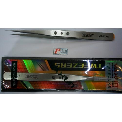پنس سرصاف مدل YAXUN YX-11AYAXUN 11 AA stainless steel tweeer high quality