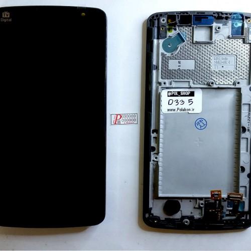 تاچ و ال سی دی ال جی مدل: (L BELLO (D335 مشکی با فریم TOUCH+LCD LG D335 L BELLO BLACK+FRAIM