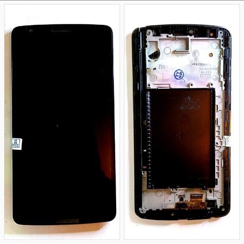 تاچ و ال سی دی ال جی مدل: (G3 STYLUS (D690 مشکی با فریم TOUCH+LCD LG G3 STYLUS (D690) BLACK+FRAM