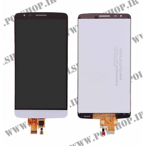 تاچ و ال سی دی ال جی مدل: (G3 STYLUS (D690 سفید بدون فریمTOUCH+LCD LG G3 STYLUS (D690) WHITE