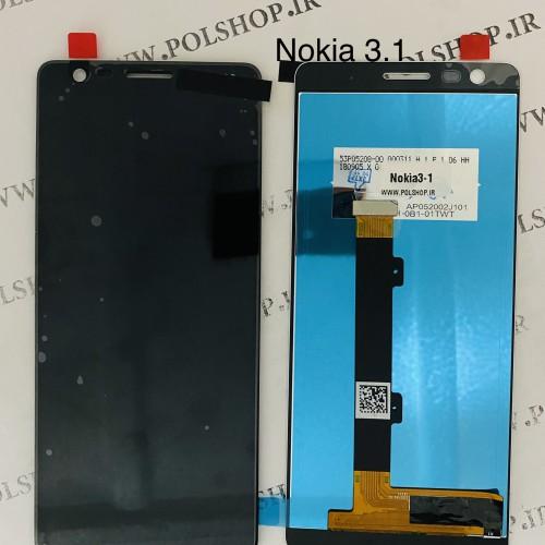 تاچ و ال سی دی نوکیا مدل 3.1 مشکی  TOUCH+LCD NOKIA 3.1