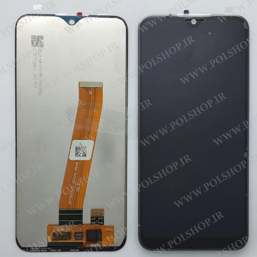 تاچ و ال سی دی اصل شرکت سامسونگ مدل A01 -A015  مشکیTouch+Lcd Samsung 100% Original A015  -A01
