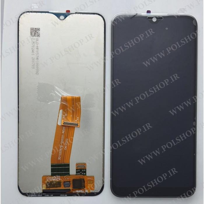 تاچ و ال سی دی اصل شرکت سامسونگ مدل A01 -A015  مشکی