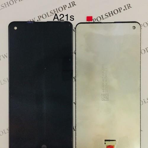 تاچ و ال سی دی اصل شرکت سامسونگ مدل A217 A21S  مشکیTouch+Lcd Samsung 100% Original A217 A21S
