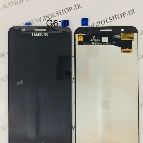 تاچ و ال سی دی اصل شرکت سامسونگ مدل G610 -J7 PRIME  مشکیTouch+Lcd Samsung 100% Original G610 -J7 PRIM  BLACK