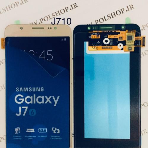 تاچ و ال سی دی اصل شرکت سامسونگ مدل  J7 2016 J710  گلدTouch+Lcd Samsung 100% Original J7 2016 J710 GOLD