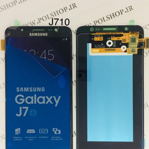 تاچ و ال سی دی اصل شرکت سامسونگ مدل  J7 2016 J710  مشکیTouch+Lcd Samsung 100% Original J7 2016 J710 BLACK