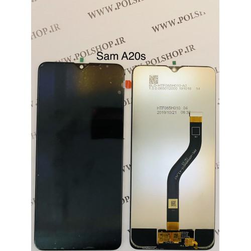 تاچ و ال سی دی اصل شرکت سامسونگ مدل A207 A20S   مشکی بدون فریمTouch+Lcd Samsung 100% Original A207 (A20s 2019  ) B
