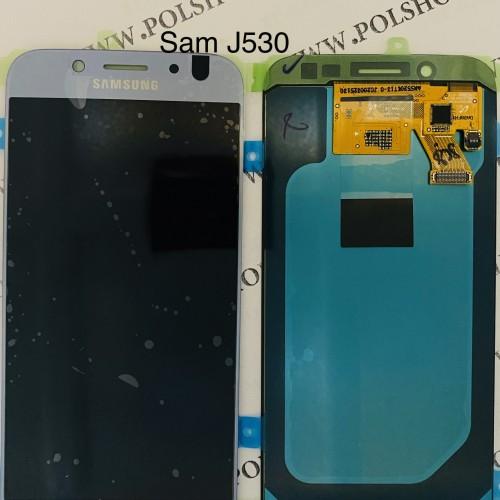 تاچ و ال سی دی اصل شرکت سامسونگ مدل J530  - J5 PRO   نقرایی/آبیTouch+Lcd Samsung 100% Original J530  - J5 PRO   silver/blue
