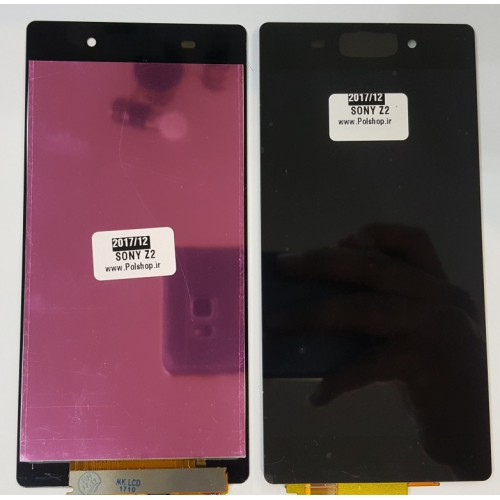 تاچ و ال سی دی سونی مدل: SONY XPERIA Z2 مشکی TOUCH+LCD SONY XPRIA Z2 AA BLACK