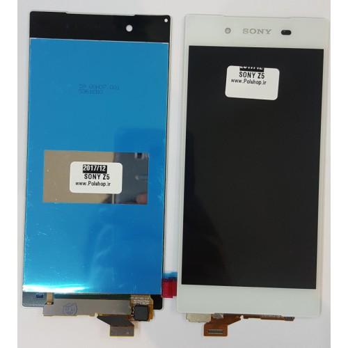 تاچ و ال سی دی سونی مدل: SONY XPERIA Z5 سفید بدون فریمTOUCH+LCD SONY EXPERIA Z5 WHITE