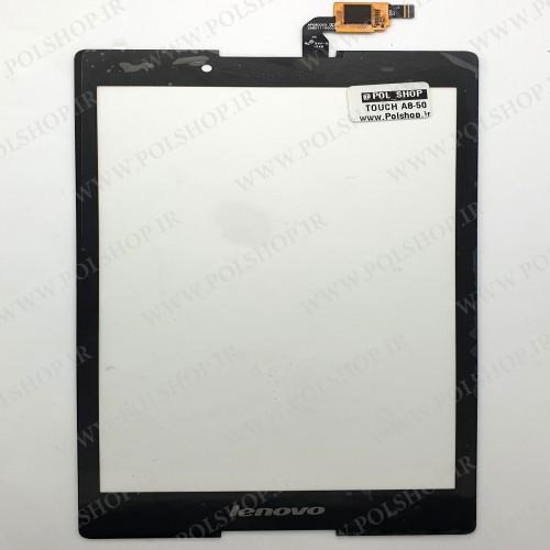 تاچ لنوو تبلت اصلی  A8-50 مشکیTOUCH TABLET LENOVO A8-50 BLACK