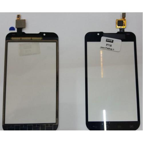 تاچ الجی مدل L7 P716 P715 P710 P713 اصلی تک سیم TOUCH LG Optimus P715 P710 P713 L7 P716