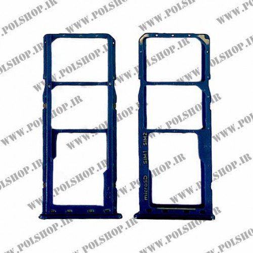 خشاب سیم کارت (جا سیم کارتی) سامسونگ مدل: (TRY SIM SAMSUNG GALAXY A10 (A105 آبی